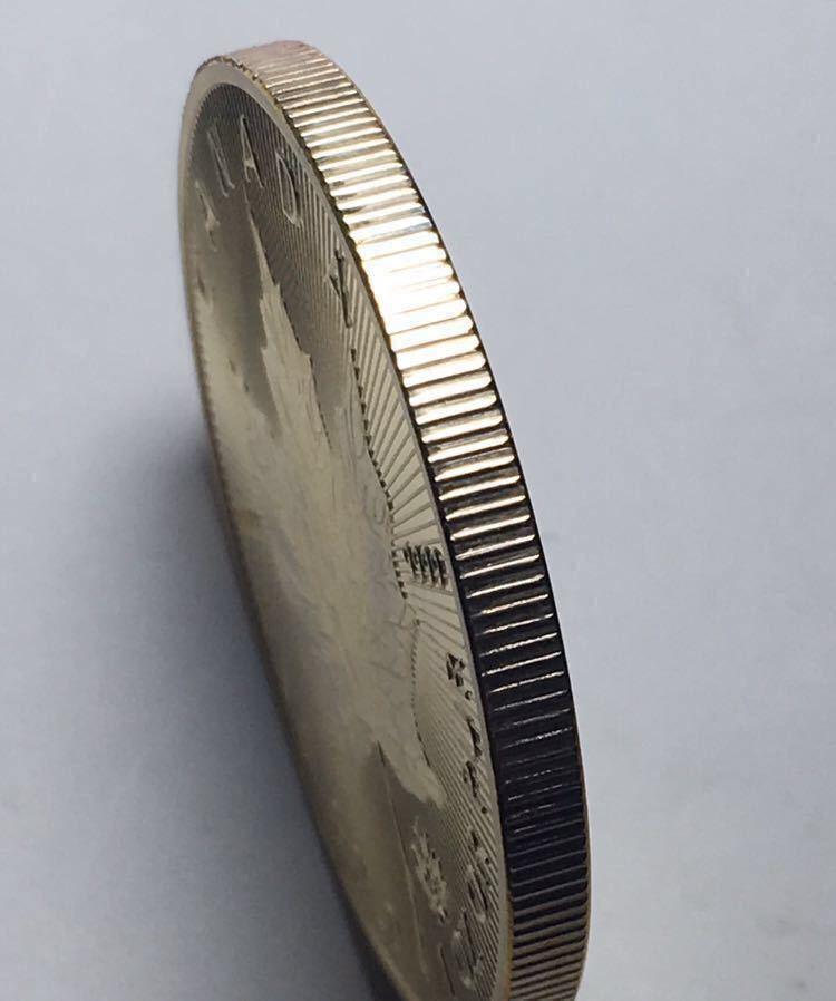 カナダ メイプルリーフ 記念金貨 1oz 1オンス 2コイン 2015年 コレクション メダル 約29グラム_画像3