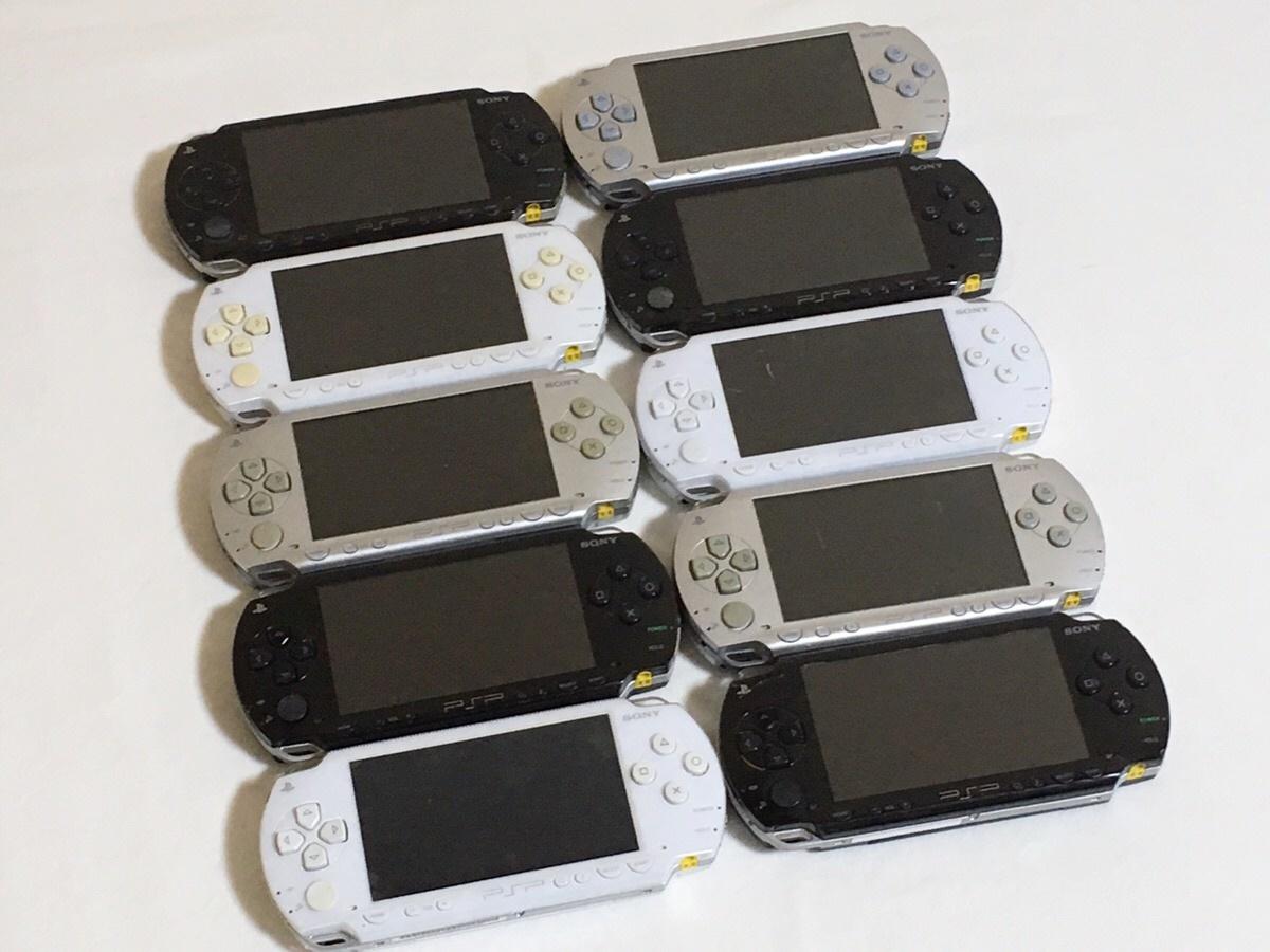 ★ジャンク★ SONY PSP-1000 本体 まとめて 10台セット ★1円スタート★