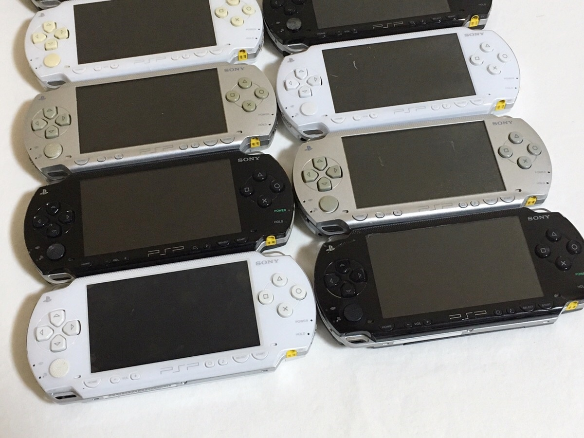 ★ジャンク★ SONY PSP-1000 本体 まとめて 10台セット ★1円スタート★_画像3