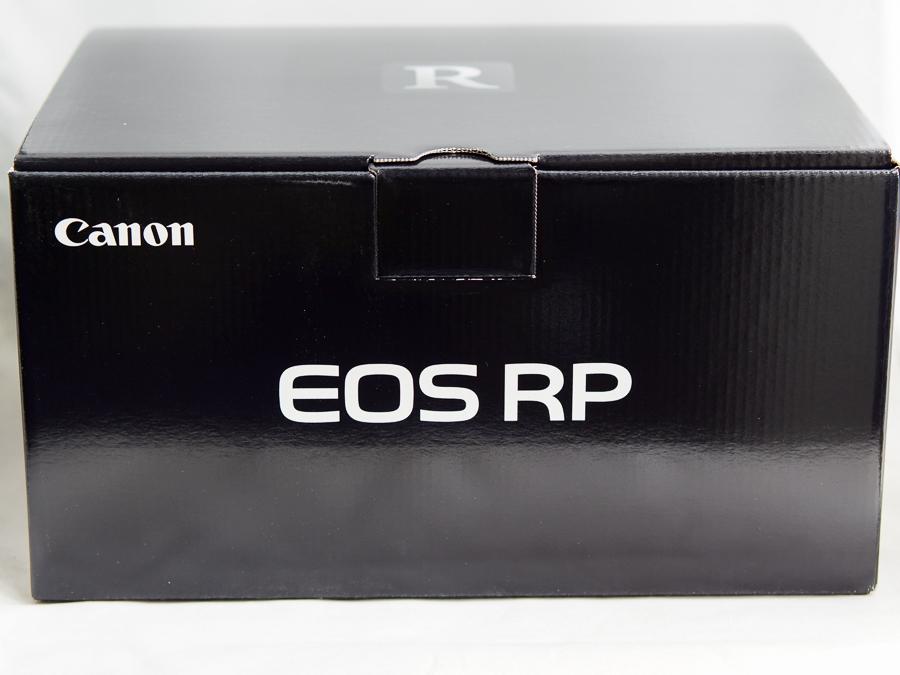 【新品未開封】Canon EOS RP ボディ ブラック 最新フルサイズ ミラーレス一眼カメラ キヤノン全員貰えるキャンペーン応募可 納品書付