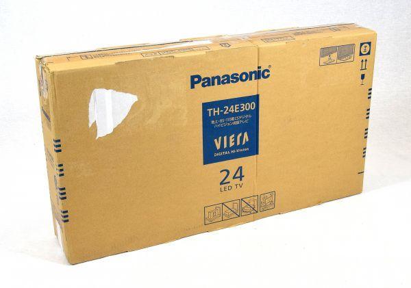 パナソニック 24V型 液晶テレビ ビエラ TH-24E300 ハイビジョン USB HDD録画対応 2017年モデル