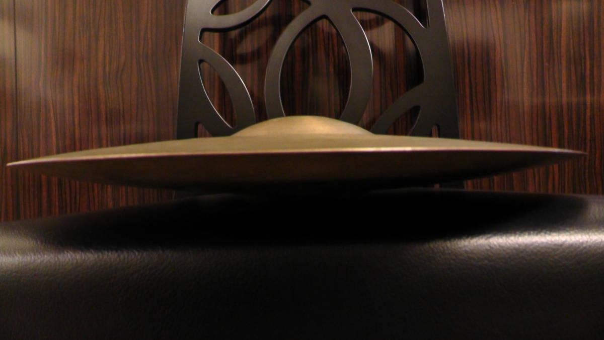 """【動画】14"""" 658g, 694g K.Zildjian Istanbul OLD STAMP 40s Hihats type II【送料無料】オールドK ビンテージ _画像9"""