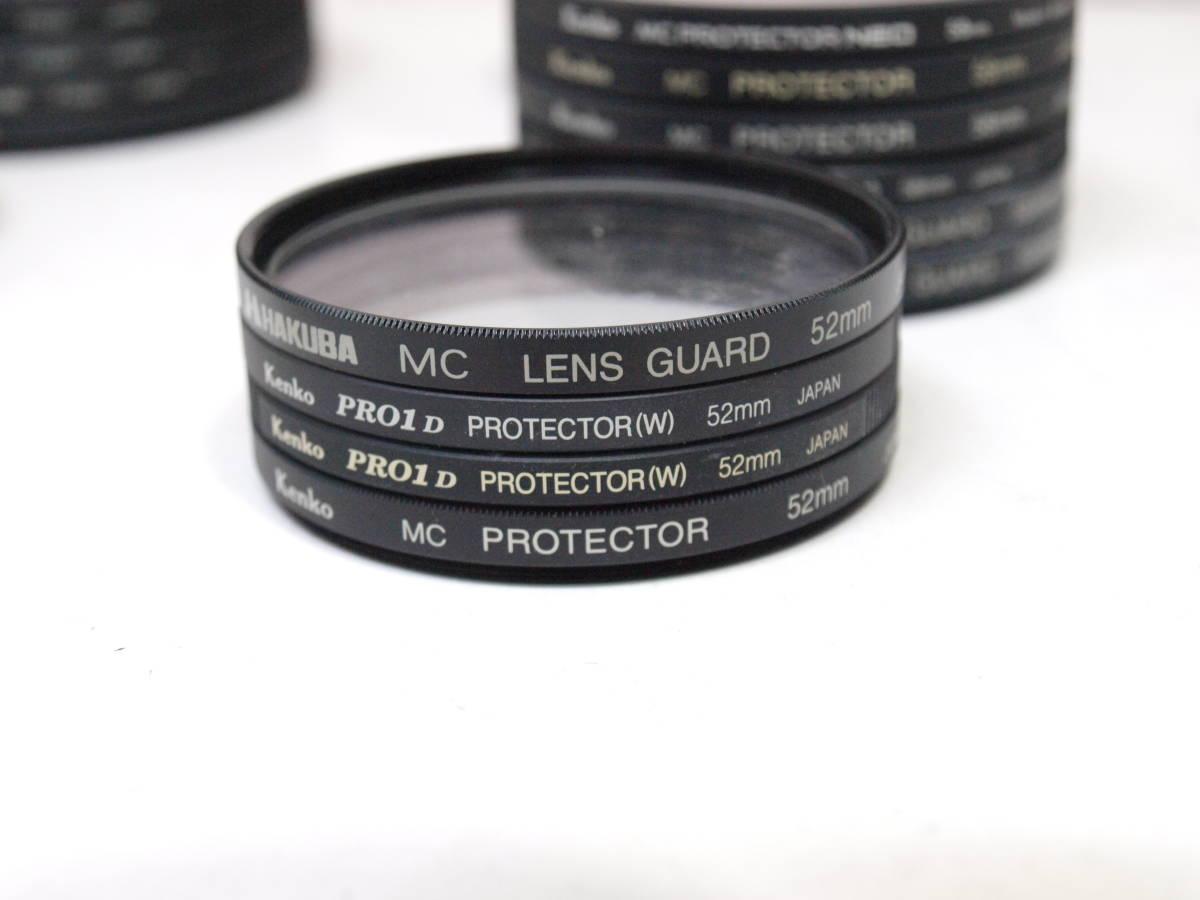 レンズフィルター プロテクター 26枚セットNikon Kenko PRO1D 77mm 72mm 67mm 62mm 58mm 52mm 49mm 37mm _画像8