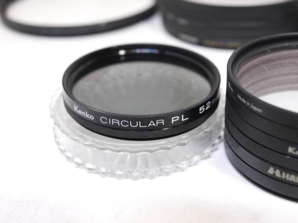 レンズフィルター プロテクター 26枚セットNikon Kenko PRO1D 77mm 72mm 67mm 62mm 58mm 52mm 49mm 37mm _画像2