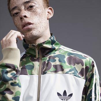 【希少】adidas Originals by BAPE アディダスオリジナルス ベイプ エイプ FIREBIRD TRACKTOP ファイヤーバード トラックトップ Mサイズ_画像2