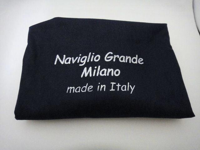 Naviglio Grande Milano ナビリオ・グランデ・ミラノ トートバック ネイビー 新品未使用品_画像7