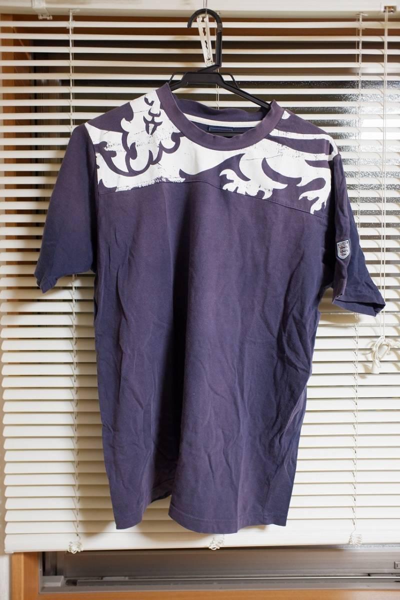 中古 Umbro イングランド代表 Tシャツ XLサイズ_画像1