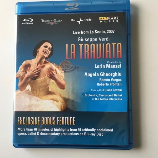 Blu-ray■『椿姫』全曲■カヴァーニ原演出、マゼール指揮、ゲオルギュー、ヴァルガス、フロンターリ、スカラ座(2007)