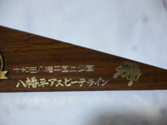 昭和レトロ★十和田八幡平国立公園 置物_画像3