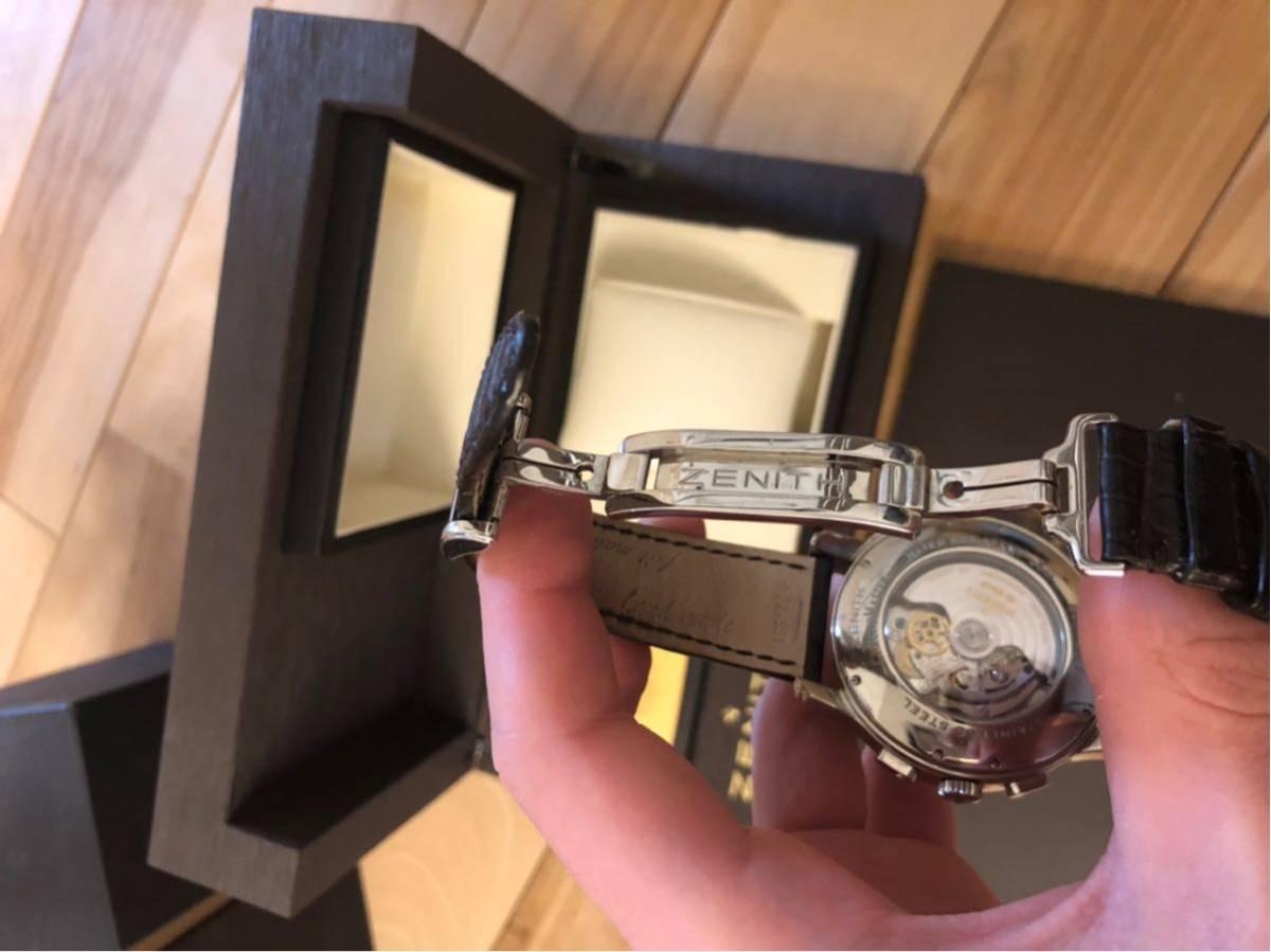 Zenith ゼニス クロノマスター ZENITH エルプリメロ 腕時計 45mm open XXT tマスター グランデイト_画像4