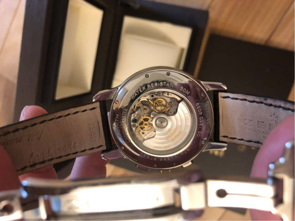 Zenith ゼニス クロノマスター ZENITH エルプリメロ 腕時計 45mm open XXT tマスター グランデイト_画像3