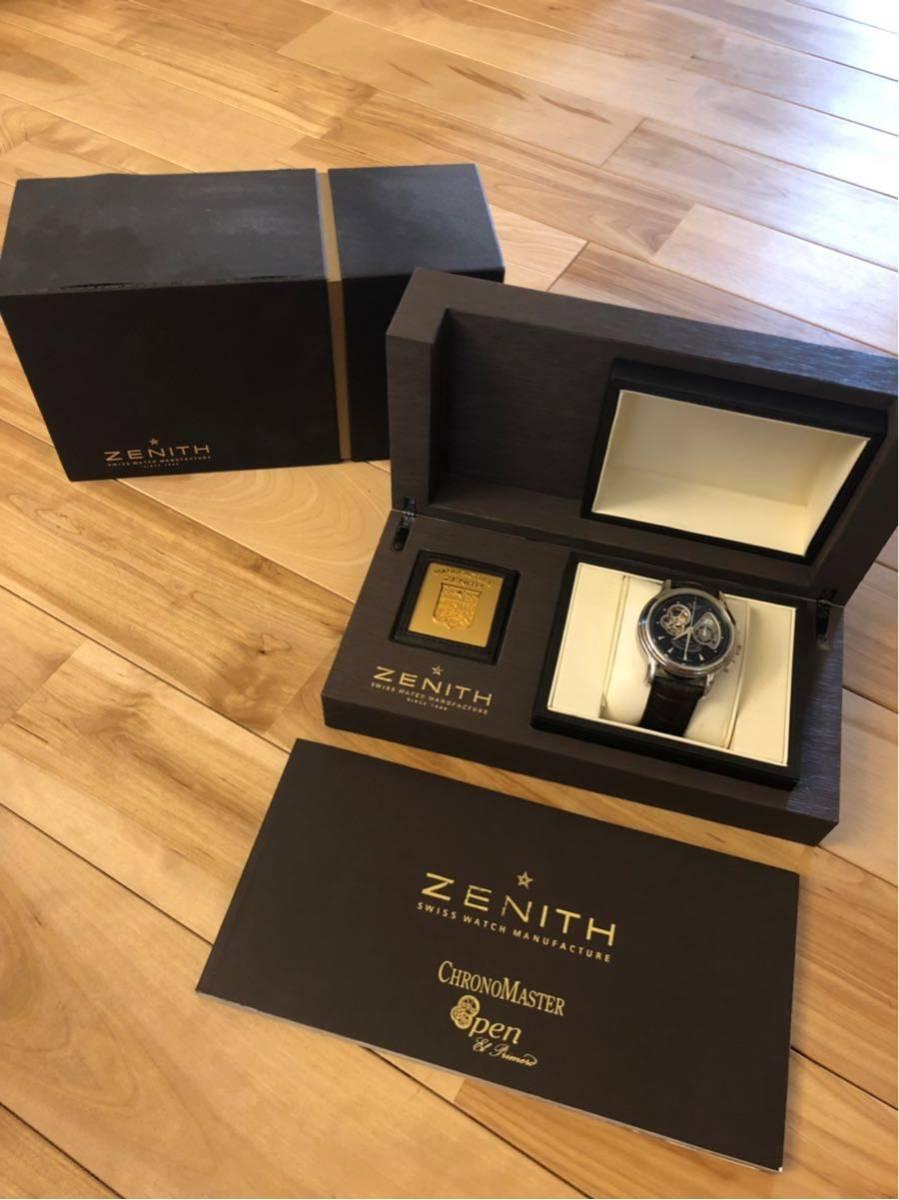 Zenith ゼニス クロノマスター ZENITH エルプリメロ 腕時計 45mm open XXT tマスター グランデイト_画像1