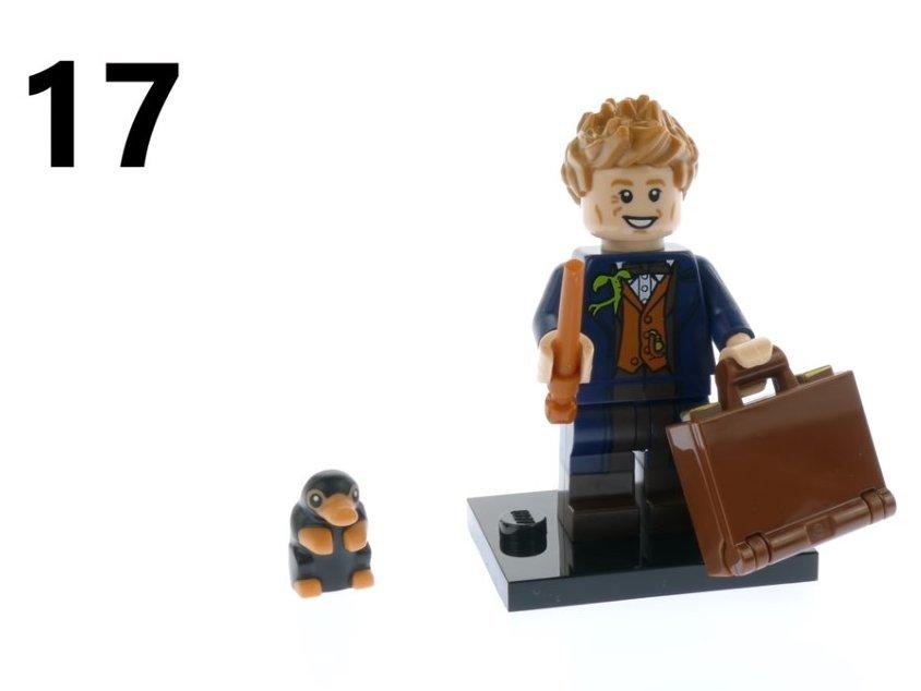新品未組立 レゴ 71022 ミニフィギュア ファンタスティック・ビースト ニュート・スキャマンダー No.17 LEGO ミニフィグ