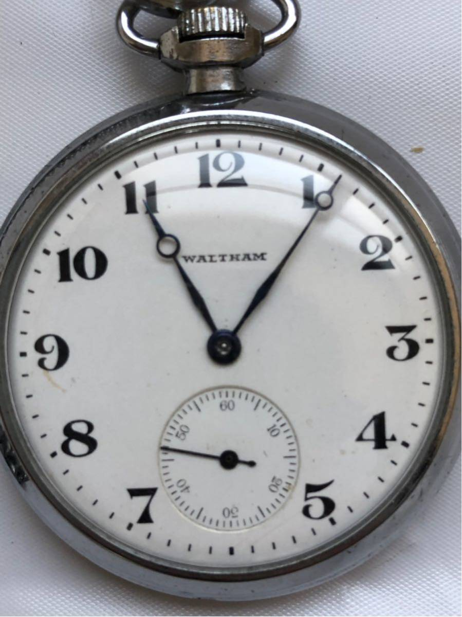 懐中時計 ウォルサム waltham 7石_画像2