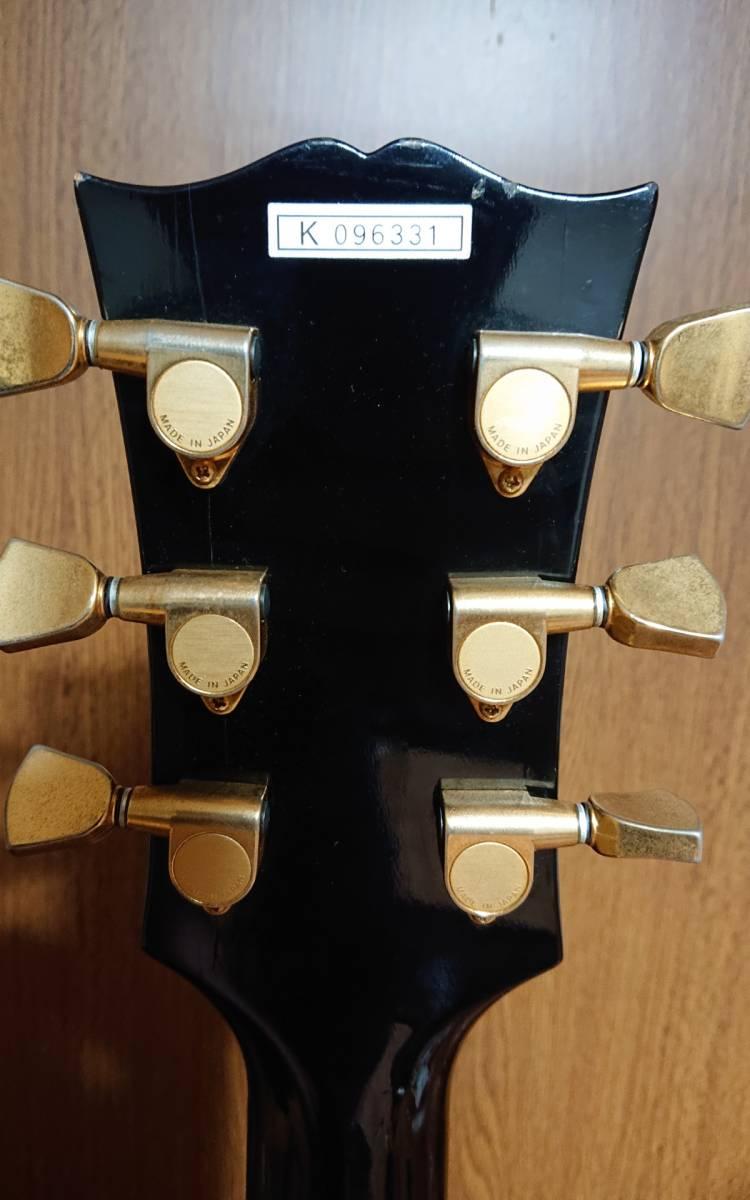 寺田製 Orville Les Paul Custom gibson EMG 81 85 レスポール カスタム ギブソン オービル ソルダレス ディープジョイント 日本製 _画像2