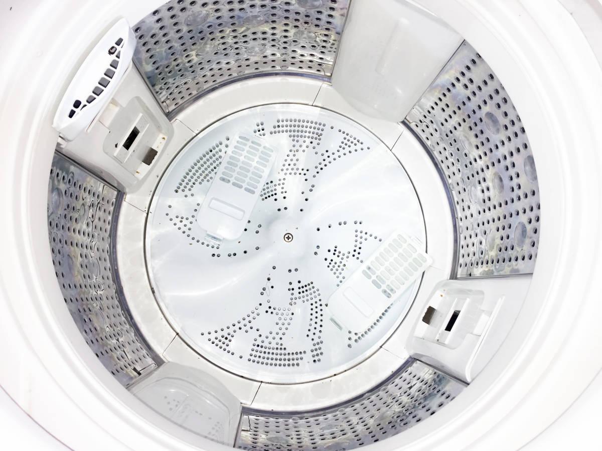 ◎送料無料!!★極上超美品★中古◎ HITACHI 8㎏「ビートウォッシュ」自動おそうじ & エアジェット乾燥!! 洗濯機【BW-8SV】GG02_画像7