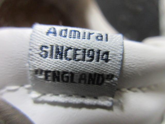 アドミラルAdmiralベルクロ25cmローカットLowスニーカー靴ホワイト白スタンスミス型ウォーキングシューズUS7メンズ1円ビンテージUSA古着UK6_画像6