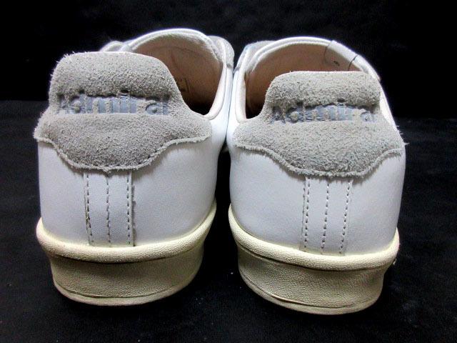 アドミラルAdmiralベルクロ25cmローカットLowスニーカー靴ホワイト白スタンスミス型ウォーキングシューズUS7メンズ1円ビンテージUSA古着UK6_画像3