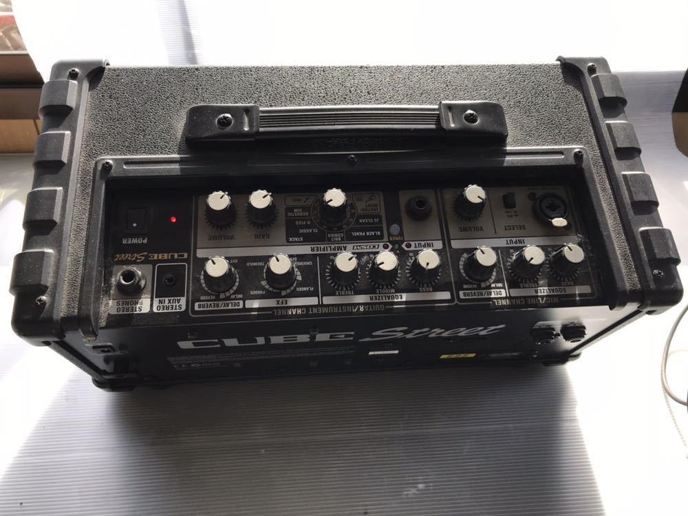 Roland/ローランド CUBE/キューブ Street Battery-Powered Stereo Amp アンプ_画像7