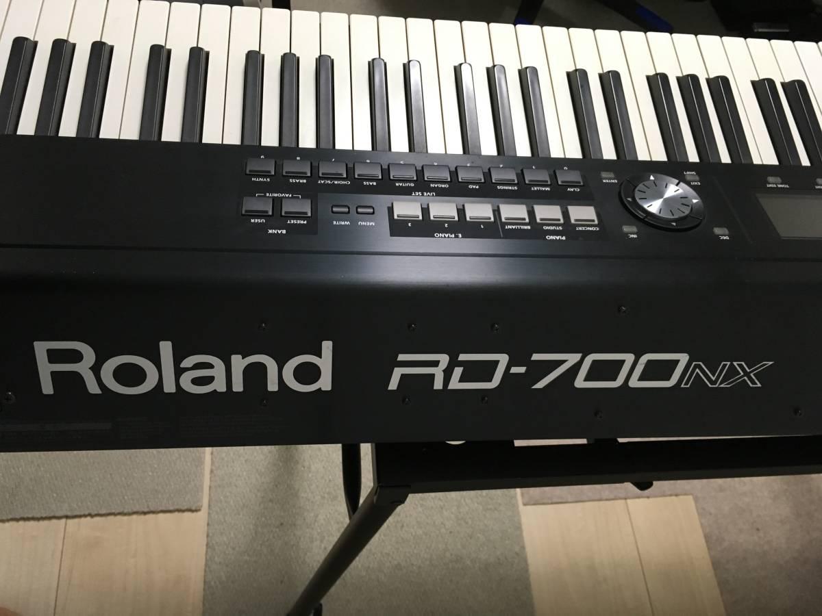 Roland RD-700NX ローランド 電子ピアノ【中古 一部難あり】_画像8