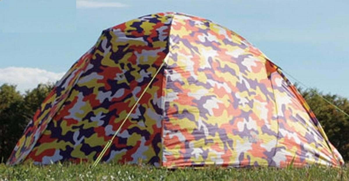 新品 LOGOS ロゴス ▼ 2.5人用テント(インナーテント+フライシート)軽量・高耐水圧 UVカット 超コンパクト収納 かんたん設営_画像5