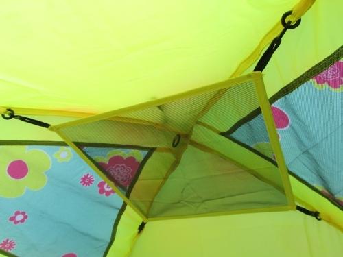 新品 LOGOS ロゴス ▼ 2.5人用テント(インナーテント+フライシート)軽量・高耐水圧 UVカット 超コンパクト収納 かんたん設営_画像9