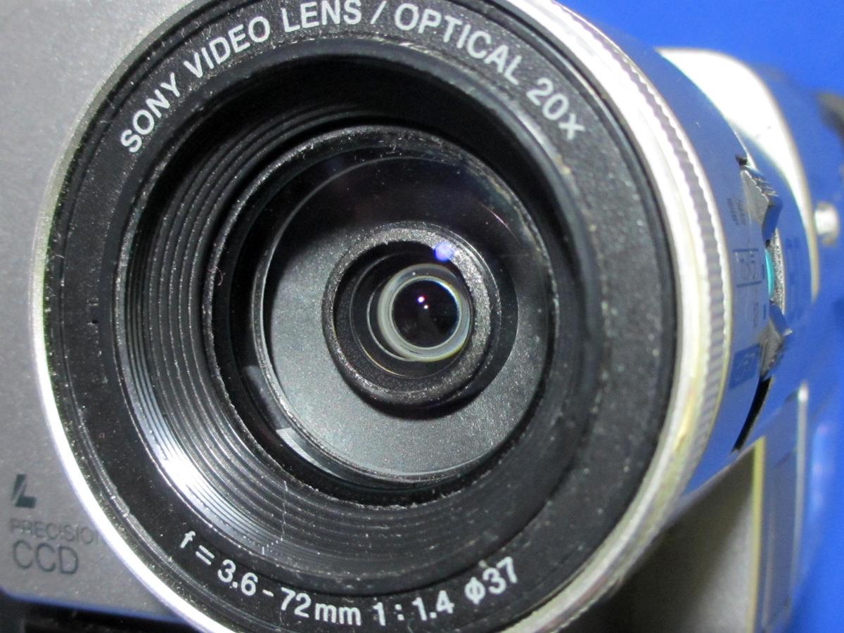安心10日保証 SONY DCR-TRV735 希少デジタル8ミリビデオカメラ 完動品 iLinkで無劣化ダビング 付属品付き Digital8_画像8