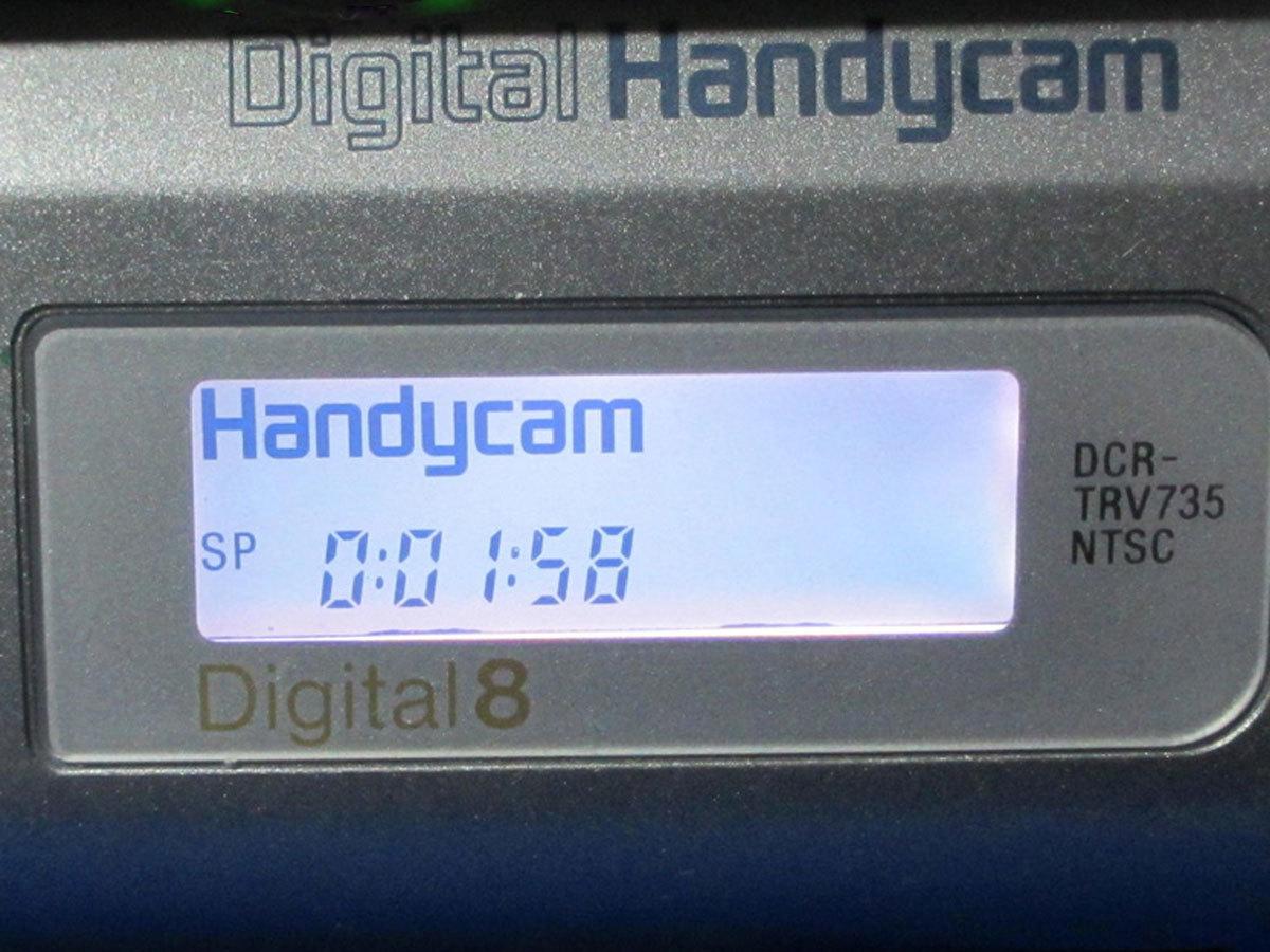 安心10日保証 SONY DCR-TRV735 希少デジタル8ミリビデオカメラ 完動品 iLinkで無劣化ダビング 付属品付き Digital8_画像9