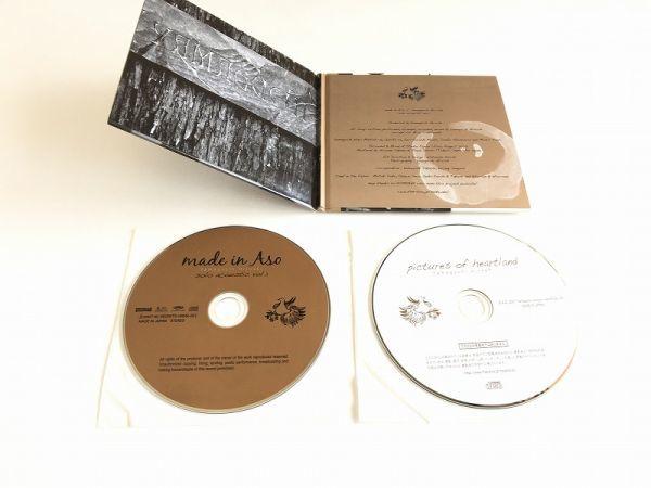 山口洋 CD「made in Aso」CD-R付・2枚組・紙ジャケ・美品/ヒートウェイヴ HEATWAVE_画像4