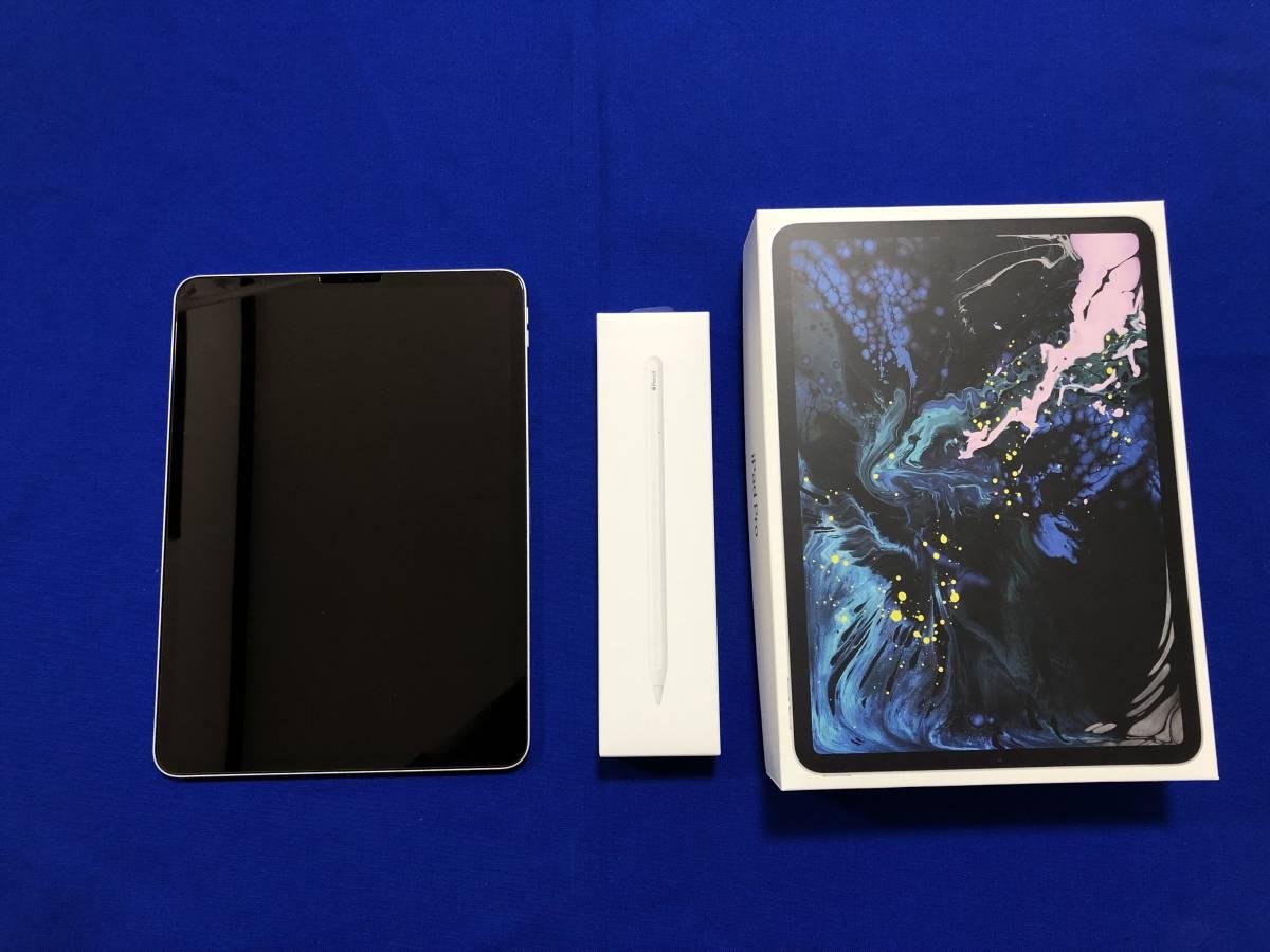 ★ipad pro 11インチ MTXP2J/A WiFiモデル シルバー 64GB +第2世代Apple Pencil 美品★