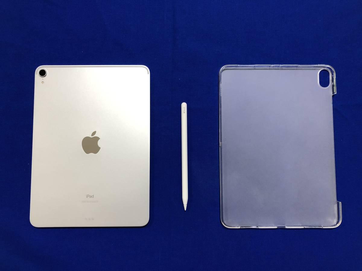 ★ipad pro 11インチ MTXP2J/A WiFiモデル シルバー 64GB +第2世代Apple Pencil 美品★_画像3