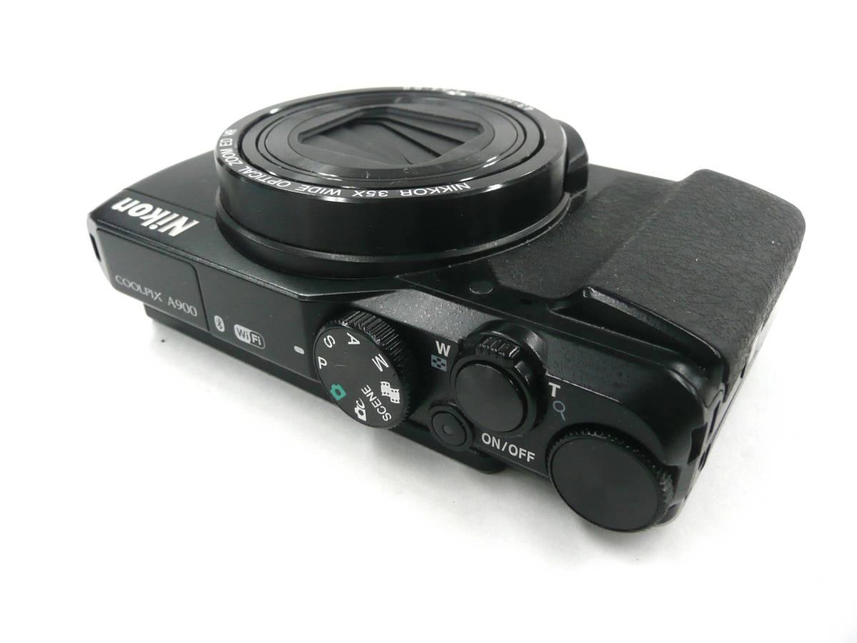 【ジャンク カメラ】 Nikon COOLPIX A900 ニコン (J674M) _画像3