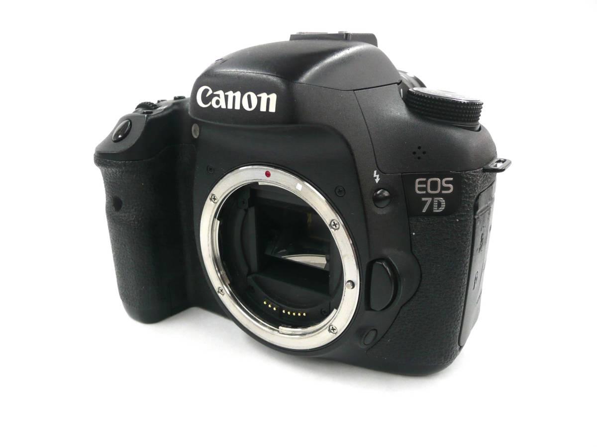 【ジャンク カメラ】 Canon EOS 7D ボディ キヤノン (J677M)
