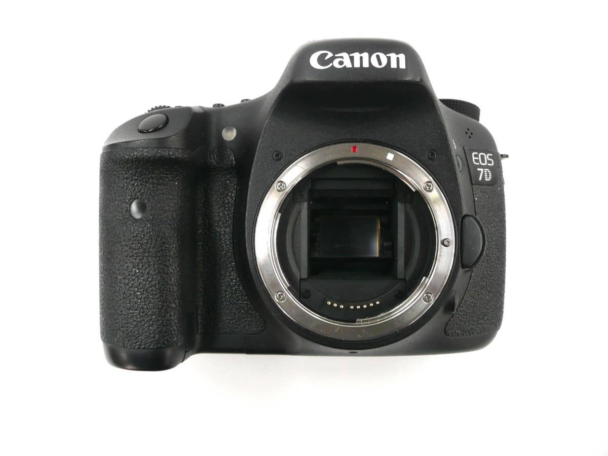【ジャンク カメラ】 Canon EOS 7D ボディ キヤノン (J677M) _画像3