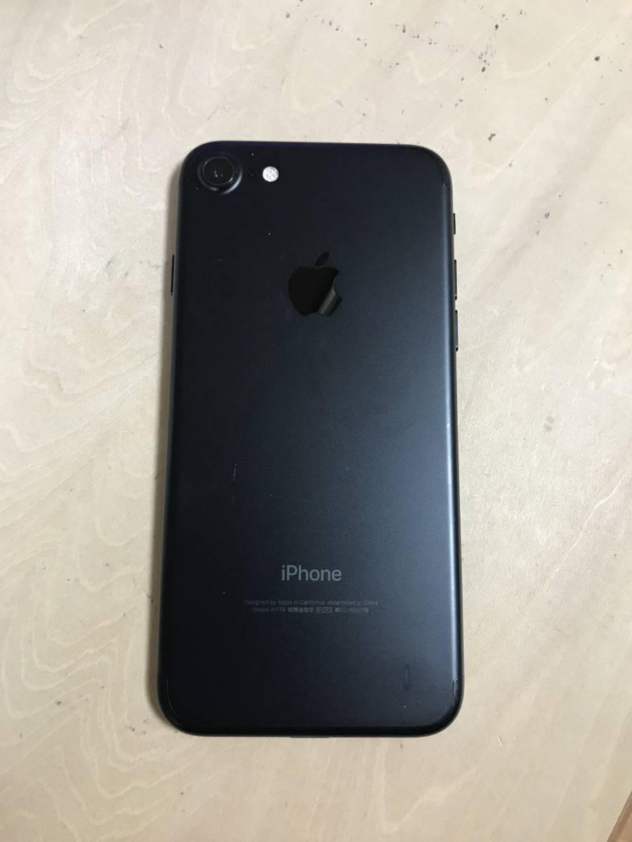 【美品】 SIMフリー iPhone7 128GB Black_画像3