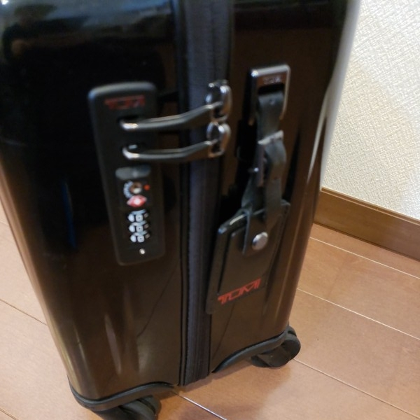 TUMI トゥミ キャリーV3 コンパクト・キャリーオン・4輪・スーツケース 機内持ち込み可能_画像5