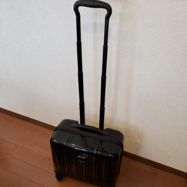 TUMI トゥミ キャリーV3 コンパクト・キャリーオン・4輪・スーツケース 機内持ち込み可能_画像2