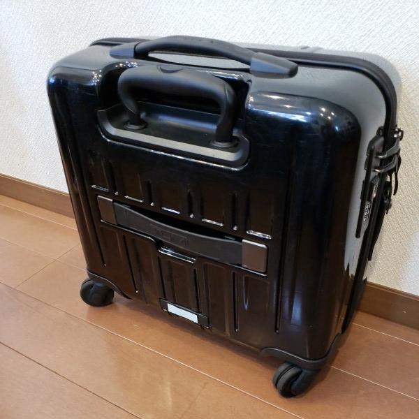 TUMI トゥミ キャリーV3 コンパクト・キャリーオン・4輪・スーツケース 機内持ち込み可能_画像3