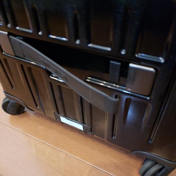 TUMI トゥミ キャリーV3 コンパクト・キャリーオン・4輪・スーツケース 機内持ち込み可能_画像4