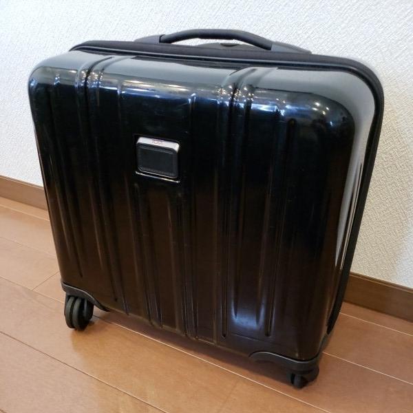 TUMI トゥミ キャリーV3 コンパクト・キャリーオン・4輪・スーツケース 機内持ち込み可能