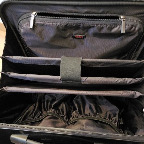 TUMI トゥミ キャリーV3 コンパクト・キャリーオン・4輪・スーツケース 機内持ち込み可能_画像6
