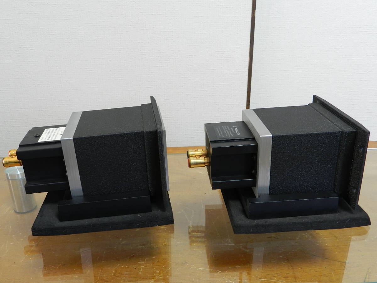 Pioneer PT-R7III //パイオニア. ベリリュウム リボンツイーター ペア//アルミダイキャスト台座付き//動作確認済 美品 発売価格¥96.000_画像6