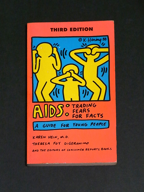 AIDS Trading Fears For Facts A Guide For Young People Keith Haring キース・へリング