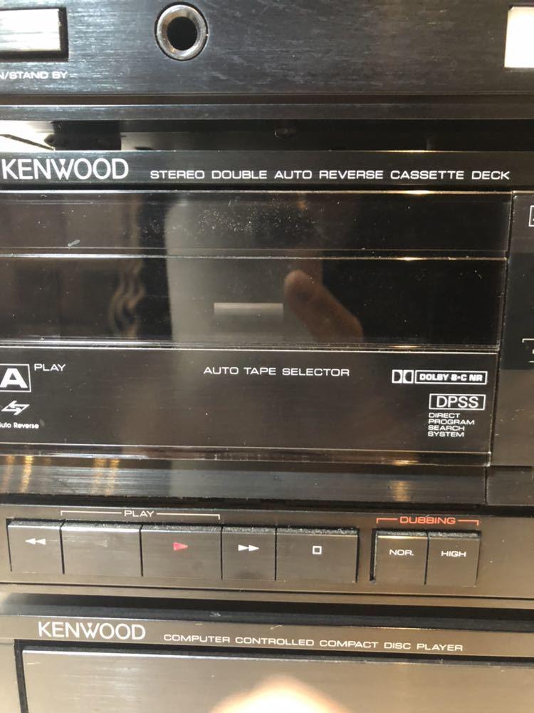 ★★※ KENWOOD ケンウッド ステレオシステム オーディオシステム P-3R/ T-7R /A-3R/ X-5WR/ DP-5Rセット _画像5