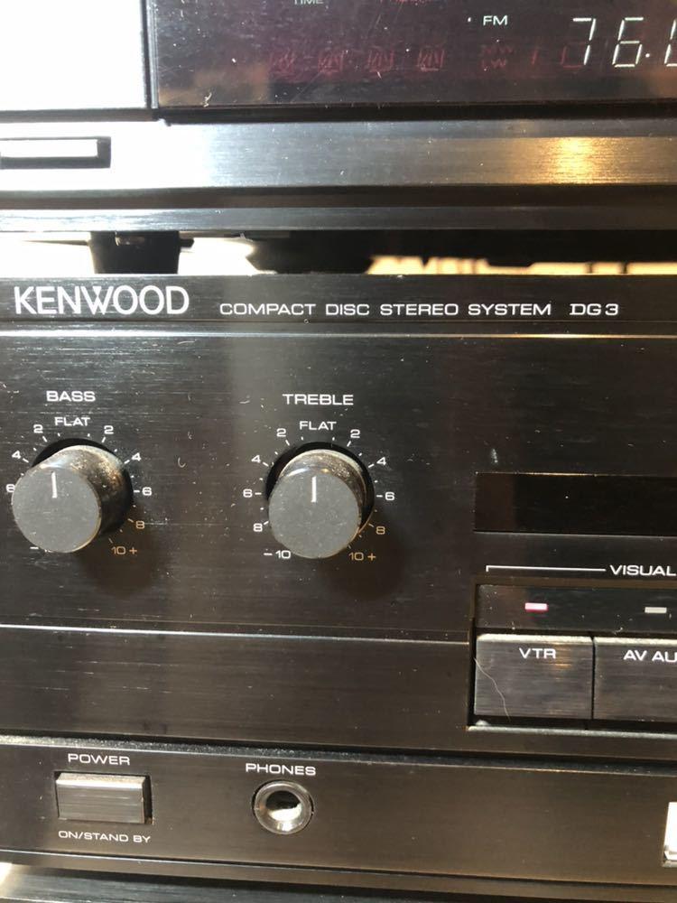 ★★※ KENWOOD ケンウッド ステレオシステム オーディオシステム P-3R/ T-7R /A-3R/ X-5WR/ DP-5Rセット _画像4