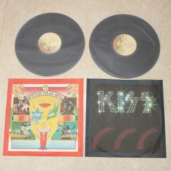 国内盤帯付き3LP★キッス KISS/地獄の全貌 完全限定盤 来日記念盤/VIP-5501~3 アナログ盤 レコード 1977_画像9