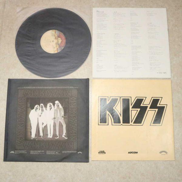 国内盤帯付き3LP★キッス KISS/地獄の全貌 完全限定盤 来日記念盤/VIP-5501~3 アナログ盤 レコード 1977_画像6