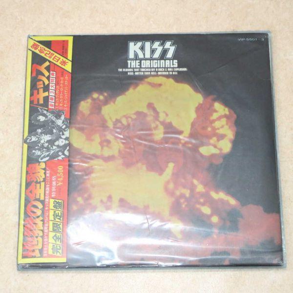 国内盤帯付き3LP★キッス KISS/地獄の全貌 完全限定盤 来日記念盤/VIP-5501~3 アナログ盤 レコード 1977