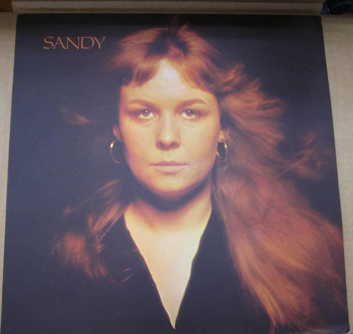 中古LP/UKオリジナル/サンディ・デニー SANDY DENNY/SANDY