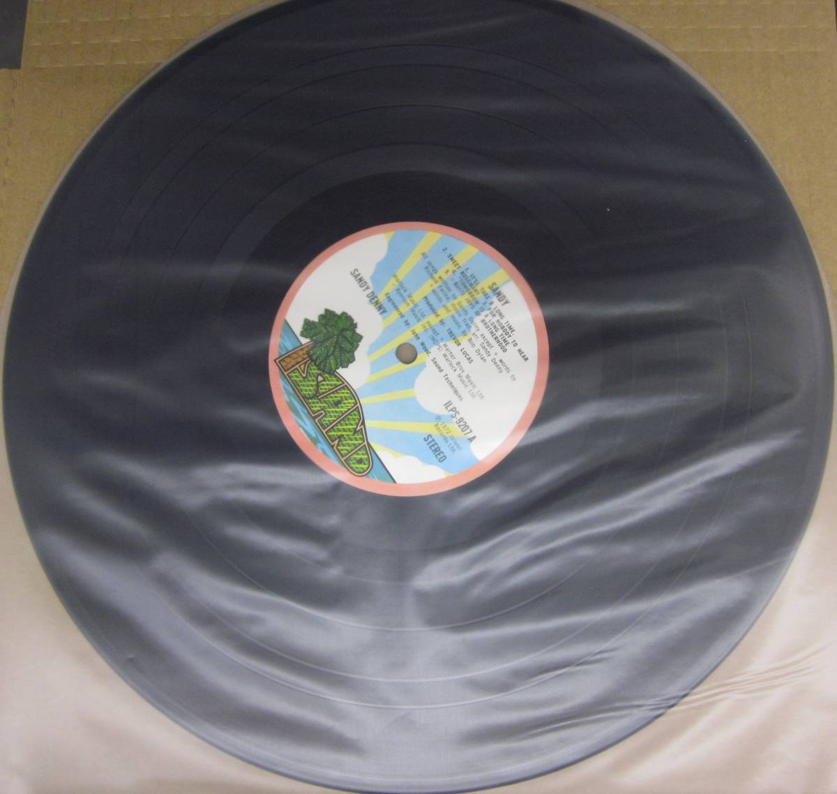 中古LP/UKオリジナル/サンディ・デニー SANDY DENNY/SANDY_画像5